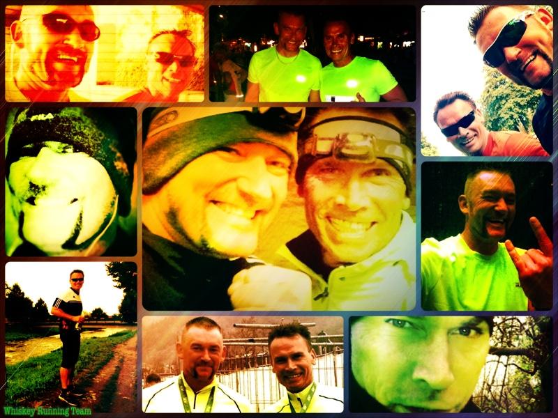 Ausschnitte aus dem Jahr 2013 des Whiskey Running Team
