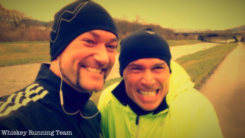 Oli & Alex beim Longrun
