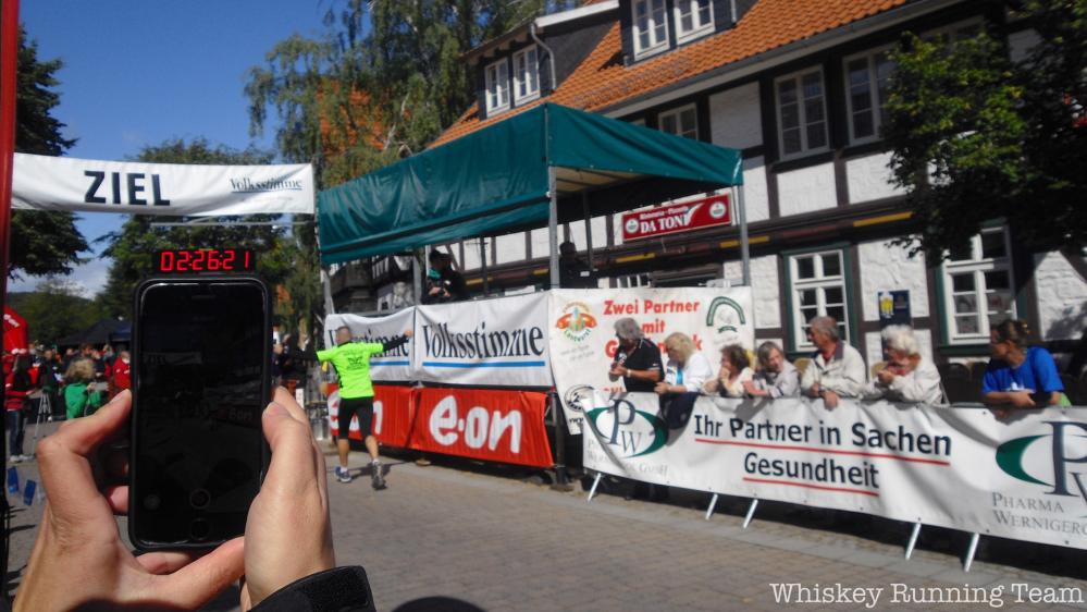 Brockenlauf 2015 - Zieleinlauf