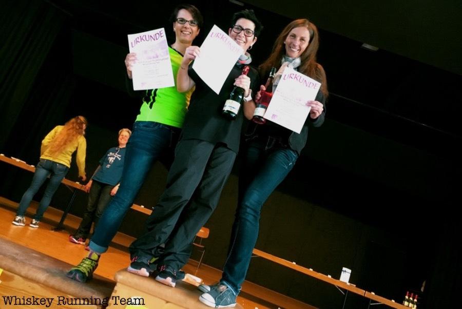 1. Platz Damen-Team