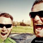 Oli & Alex beim 32 km Lauf