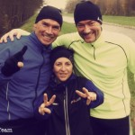 Das Whiskey Running Team