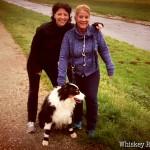 Jutta und Conny mit Tassilo