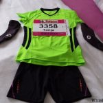 Tanja beim Marathon